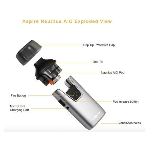 Aspire Nautilus AIO Pod Kit 6