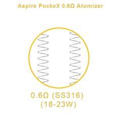 Aspire PockeX Coils 4