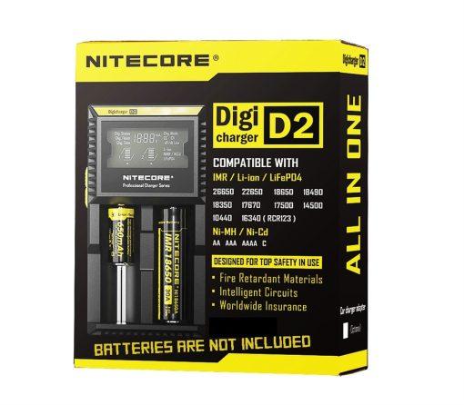 NiteCore D2 DigiCharger 1