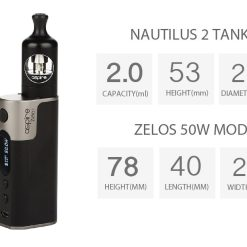 Aspire Zelos Kit 50W 10