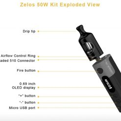 Aspire Zelos Kit 50W 7