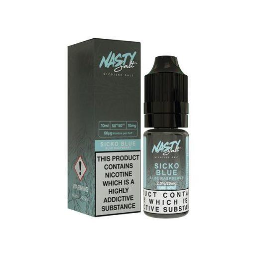 Sicko Blue Nic Salt by Nasty Juice