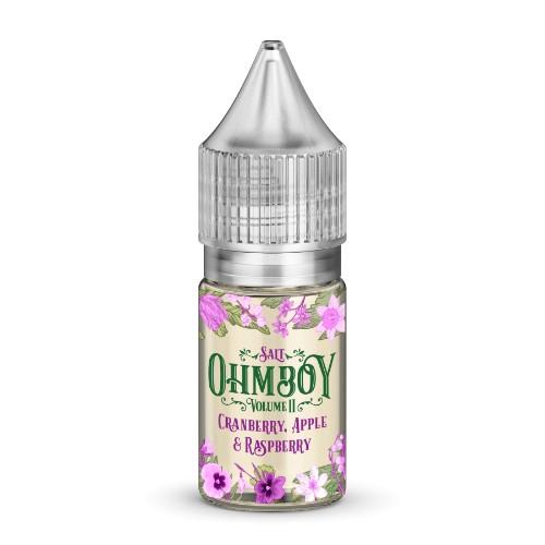 Cranberry, Apple & Raspberry Nic Salt by Ohm Boy