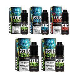 Zeus Juice MULTI-PACK - 5x 10ml Bottles