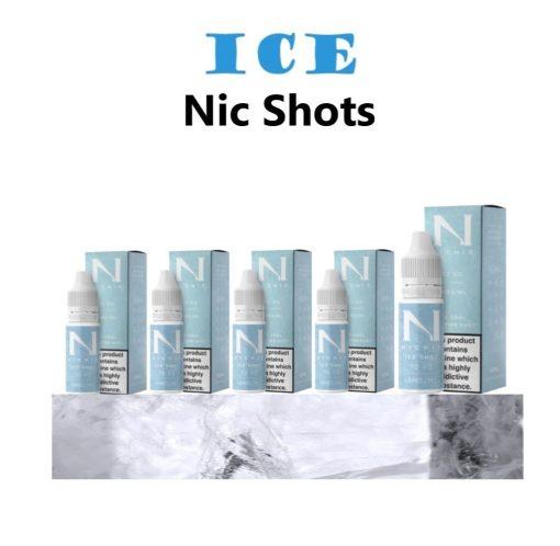 ICE Nicotine Shots 18mg - Multi Pack 5